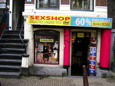 Sex Olanda: sex shop Amsterdam