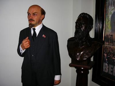 Statuie Lenin la Madame Tusaud
