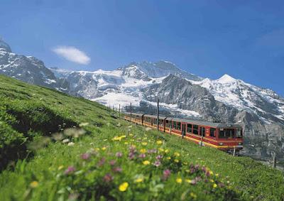 Tren in Elvetia