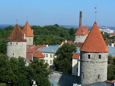 Obiective turistice Estonia: orasul vechi Talinn