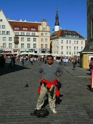 Imagini Estonia: piata centrala din Talinn