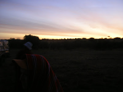 Rasarit de soare in Kenya