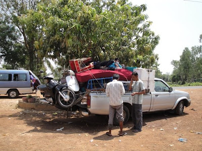 Masini in Cambogia