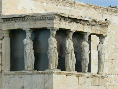 Cariatidele din Atena