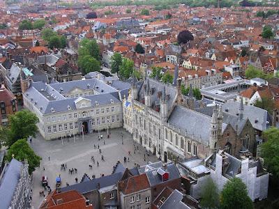 Burg, piata din Brugge
