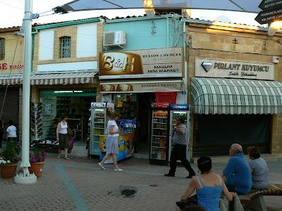 Imagini Nicosia de Nord: strada Ledra