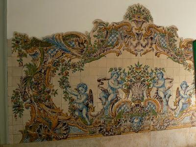 Imagini Portugalia: azulejos in gara Sintra