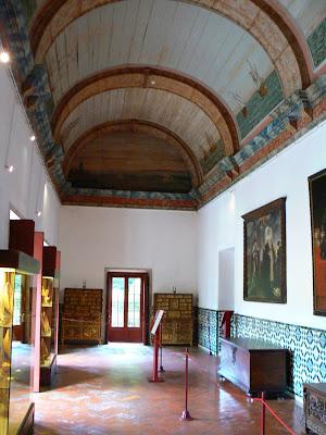 Obiective turistice Sintra: Palacio Nacional interior