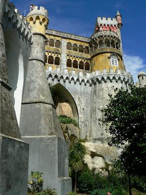 Obiective turistice Sintra: Palatul Pena