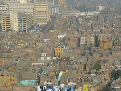Cazare Egipt: Isis Hotel Cairo panorama de la fereastra