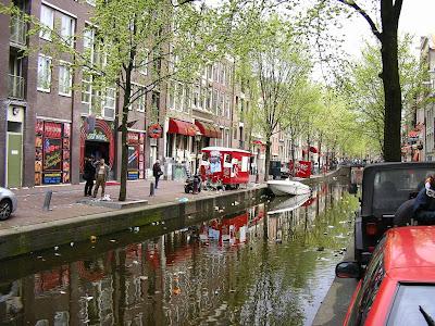 Obiective turistice Amsterdam: Cartierul Rosu