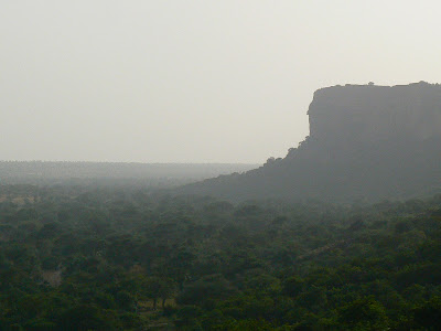 Obiective turistice Pays Dogon:  Escarpement Bandigara