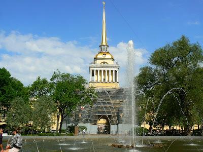 Obiective turistice Sankt Petersburg: Amiralitatea