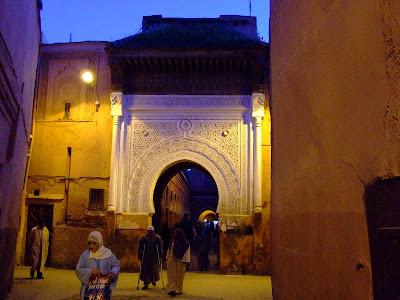 Obiective turistice Maroc: medina din Marrakech