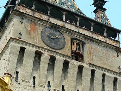 Imagini Romania: Turnul cu ceas Sighisoara