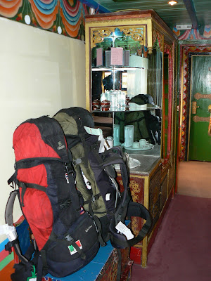 Imagini Tibet: hotel Dhod-Gu Lhasa mini-bar