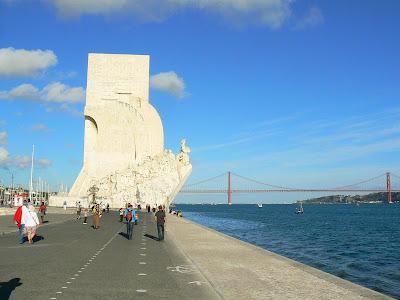 Imagini Portugalia: monumentul descoperitorul din Belem