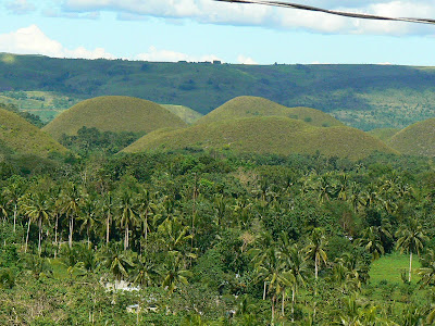 Imagini Filipine: Dealurile de Ciocolata Bohol