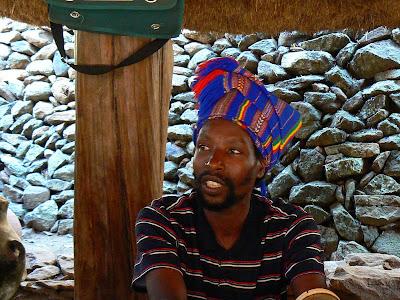 Imagini Etiopia: regele Konso
