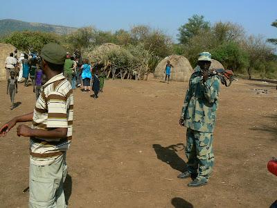 Obiective turistice Etiopia: sat mursi