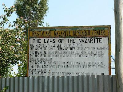 Imagini Etiopia: prin Shashemene, codul rastafarian