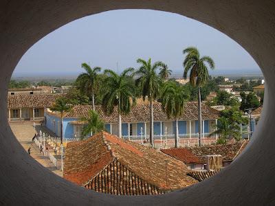 Obiective turistice Cuba: Piata centrala din Trinidad
