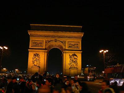 Imagini Franta: Arcul de Triumf, Paris