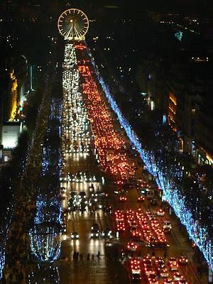 Imagini Franta: Champs Elysees, Paris