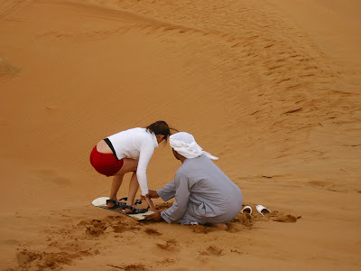 Imagini Dubai: Safari in desert, sand board