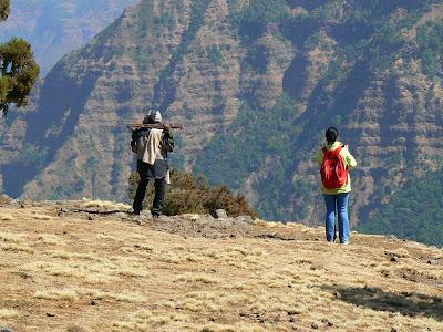 Imagini Etiopia: Muntii Simien Teo si scout
