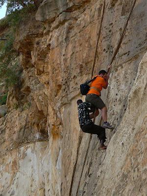 Obiective turistice Etiopia: catarare la Debre Damo, Tigray