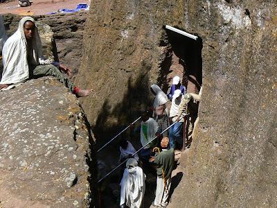 Obiective turistice Etiopia: iesirea Northern Cluster Lalibela