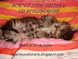 Sorteo en  La Gatita Costurera!!!