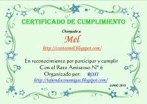 Mi Primer Diploma Del Reto Amistoso!!!