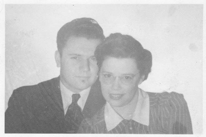 Grandpa Dysart's Mom and Dad