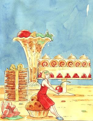 Dessin dessert - Dessert dessin ...