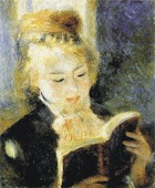 La Liseuse  (Pierre Auguste Renoir)