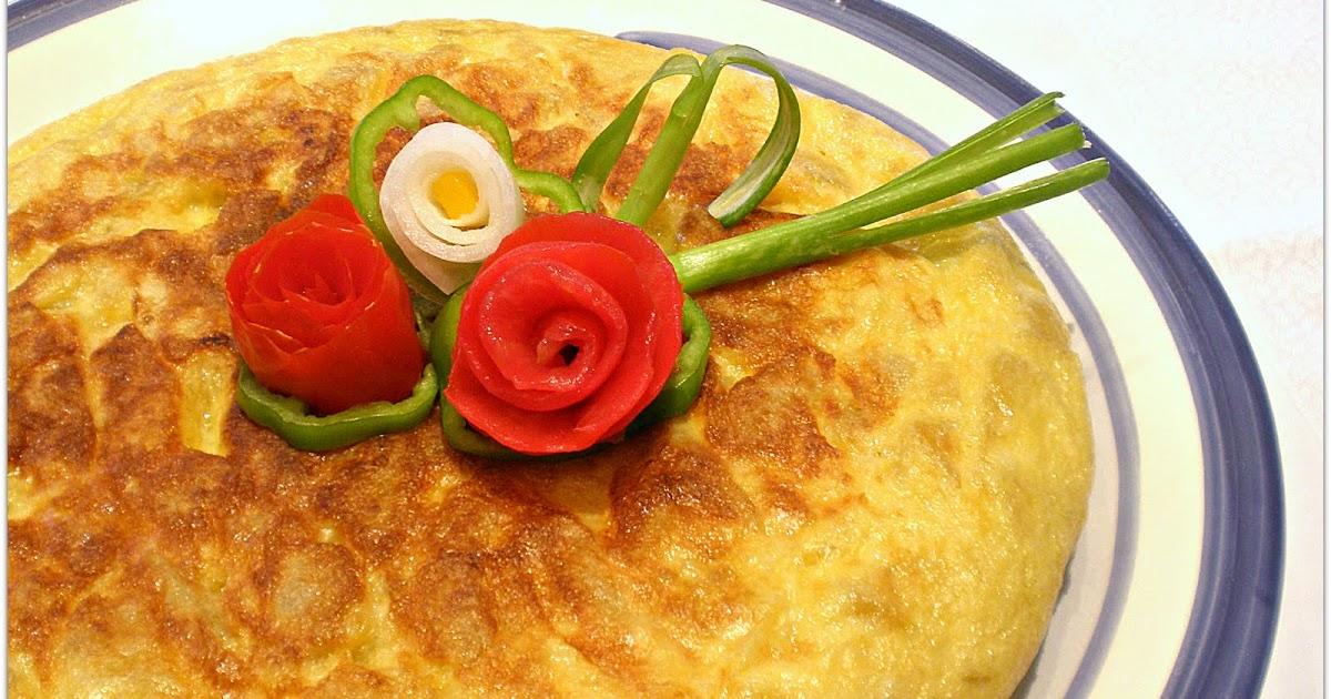 Cocina tortilla de queso con esp rragos - Comidas con esparragos ...