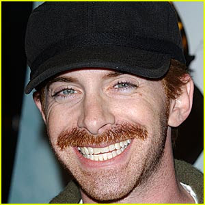 seth green mustache ... nothing to do with Heroes, but he's still here because he's Seth Green.
