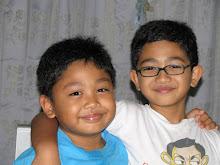 Aniq and Hilmi