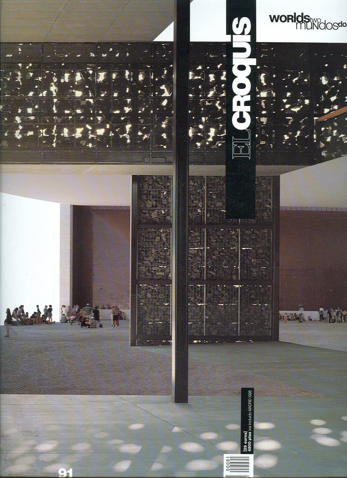 Architecture landscape el croquis 91 two worlds for El croquis pdf