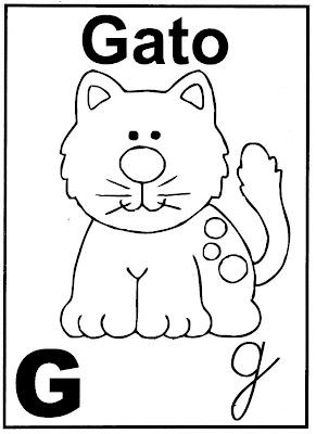 ABECEDARIO ILUSTRADO CON ANIMALES - Dibujos Para Colorear