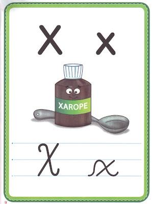 ALFABETO+LETRA+X A PEDIDOS: + UM ALFABETO ILUSTRADO! para crianças