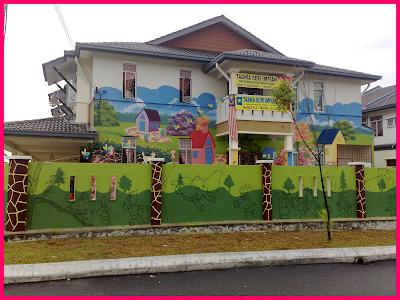 mural painting mural tadika
