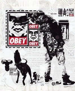 The East / West Propaganda Project - Obey Giant vs. WK Interact