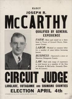 Poster for Joseph R. McCarthy