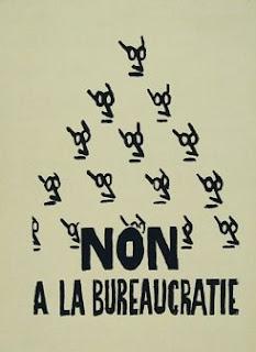 Non à la bureaucratie