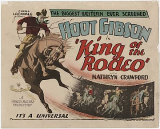 Hoot Gibson in King of the Rodeo