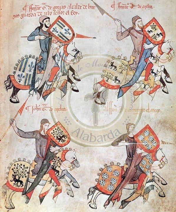 El Bofordo o arte de la justa en Castilla. 1