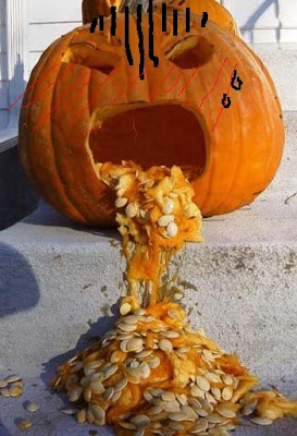 Funny Others: Sick pumpkin